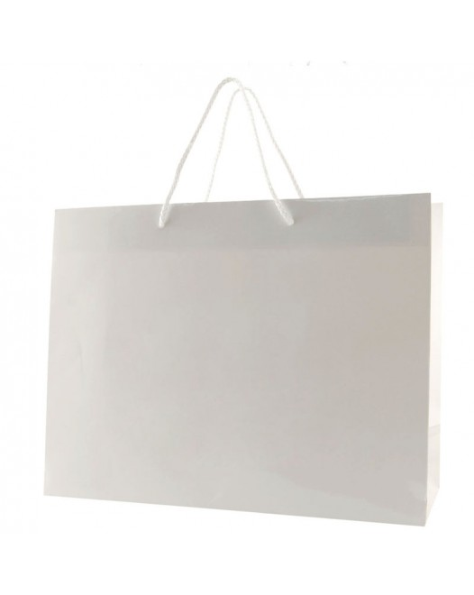 WHITE GLOSS LAMINATED EUROTOTES