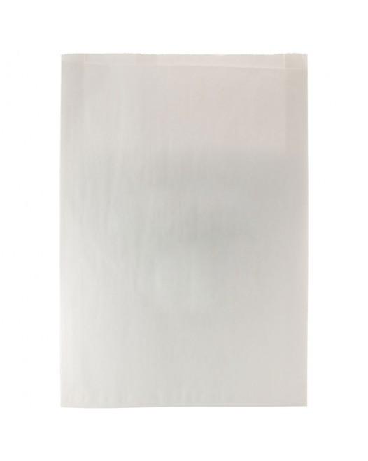 WHITE PAPER MERCHANDISE BAGS