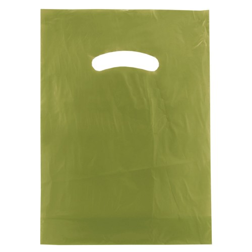 COLOR SUPER GLOSS DIE CUT HANDLE BAGS