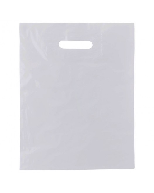 WHITE PATCH HANDLE BAGS 2.5mm