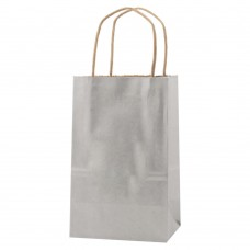 PRECIOUS METALS KRAFT SHOPPING BAGS
