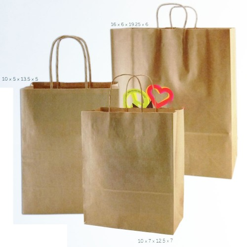 NATURAL KRAFT SHOPPING BAG