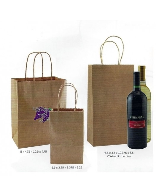 NATURAL KRAFT SHOPPING BAG