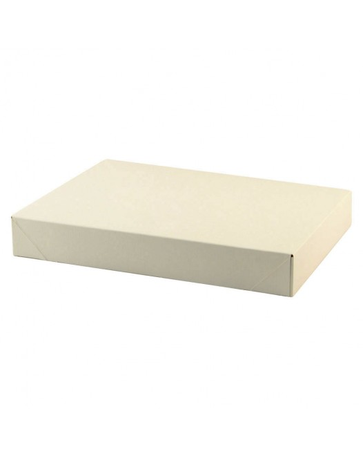 WHITE GLOSS APPAREL BOXES