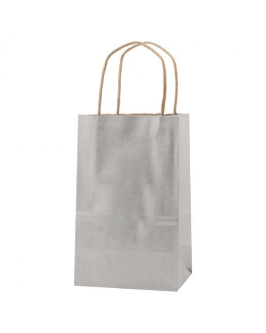 PRECIOUS METALS KRAFT SHOPPING BAGS